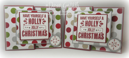 Christmas Gift card holders Dawn Griffith