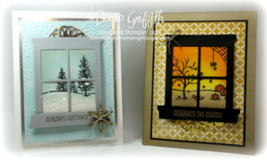 #1 Happy Scenes Christmas and Autumn Dawn Griffith