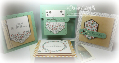 #1 Cottage Greetings Card Kit