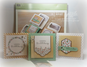 #1 Cottage Greetings Card kit Dawn Griffith