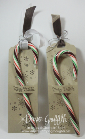 Merry Wishes candy cane holders