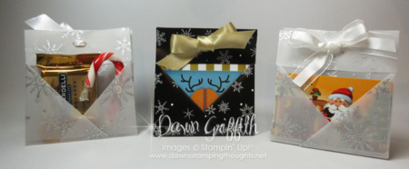 Origami Gift Card & Candy Holders Dawn Griffith Stampin'Up!