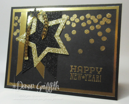 Count down Happy New Year hour 5 Dawn Griffith Stampin up!