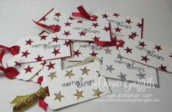 Christmas gift tags Dawn Griffith