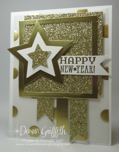 Count down Happy New Year hour 4 Dawn Griffith Stampin up!