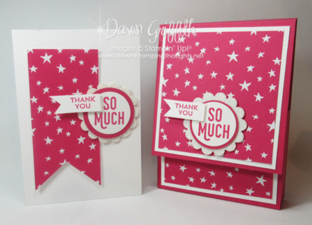 Box of Notecards Melon Mambo  Dawn Griffith Stampin'Up!