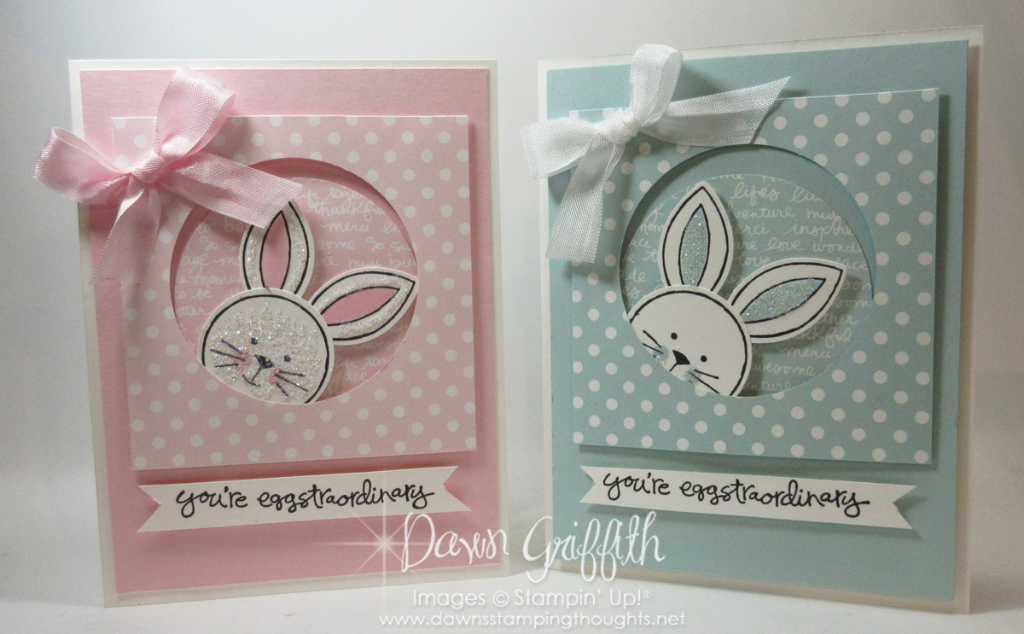 Friend Flowers Easter card video Dawns Stamping Thoughts – Easter Cards Stampin Up