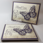 Timeless Textures  card with Butterflies Thinlits video