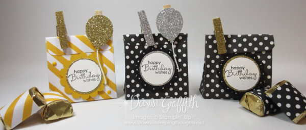 Birthday Treat Bags  Dawn Griffith Stampin'Up! Demonstrator  check out the video on my blog today