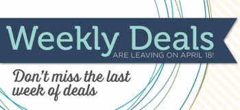 Weekly Deals last week Dawn Griffith Stampin'Up! Demonstrator
