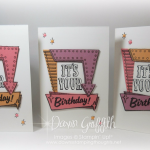 Marquee Messages ~ It's Your Birthday card with Window Sheet insert video