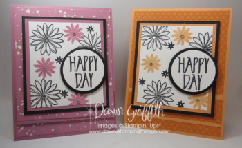 Happy Day Spinner card video Dawn Griffith Stampin up Demonstrator