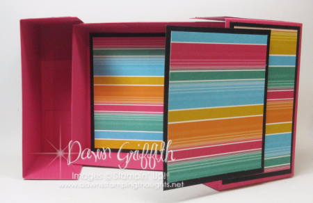 Slip Top Gift Box check out todays video Dawn Griffith Stampin'Up Demonstrator