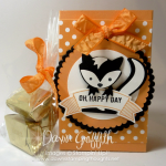 Fox Builder punch ~ Skunk Treat Bag video .