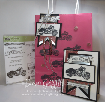 Ruthie's Birthday gift Dawn Griffith Stampin Up Demonstrator