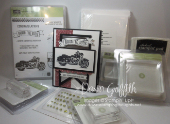 Ruthie's Birthday gift Inside bag of goodies Dawn Griffith Stampin Up Demonstrator