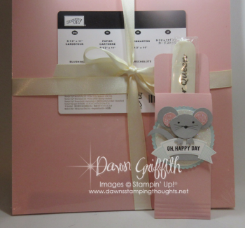 Mouse Punch art gift for Glitter queen retreat 2016 Dawn Griffith video