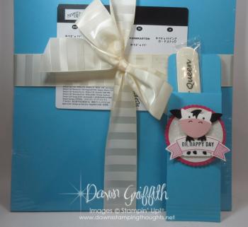 Glitter Queens Megans Pillow gift Dawn Griffith