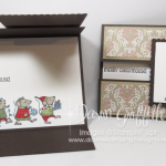 Gate Fold Peek a Boo card video