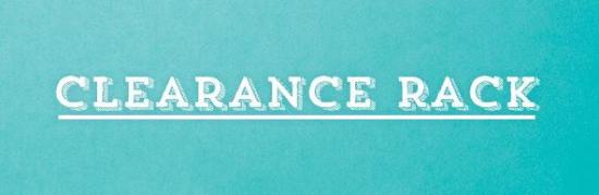 Clearance Rack #1