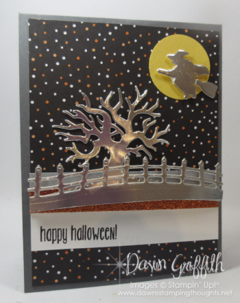 Halloween Pop up panel card front Dawn Griffith check out the video on my blog today
