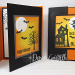 Double Fun Fold Halloween card video