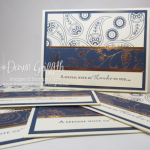 Paisley Thank you cards