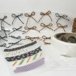 Dawn's Quick Tip video ~ Bows & Washi Tape