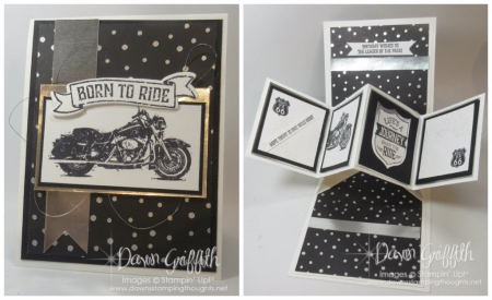 One Wild Ride Pop Up card Dawn Griffith