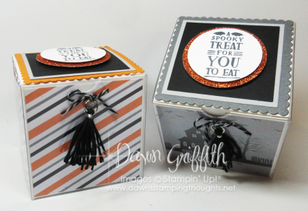 Halloween gift box Dawn Griffith Stampin Up
