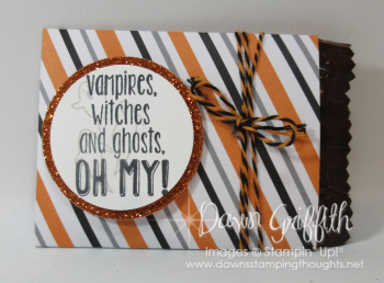 Halloween candy or gift card holder Dawn Griffith