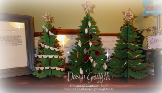 #1 Forever Evergreen Trees kit Dawn Griffith