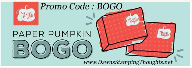 Paper Pumpkin BOGO until Oct 11 Dawn Griffith