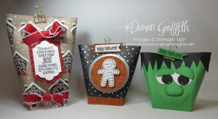 Box in a bag Christmas and Halloween Dawn Griffith