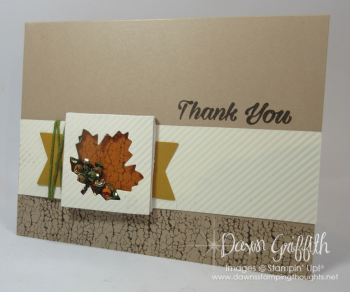 Oct 2016 Paper Pumpkin change up Dawn Griffith Stampin Up