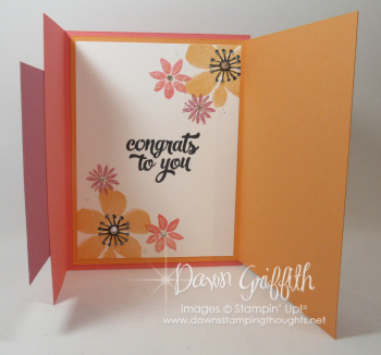 Happy Day card for Mary inside Dawn Griffith