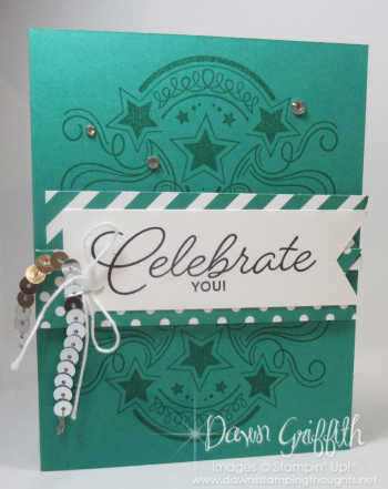 Celebrate YOU Global Top 100 award and card Dawn Griffith