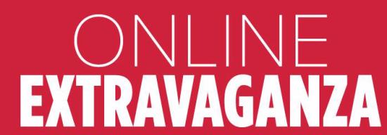 Online Extravanganza save up to 40%