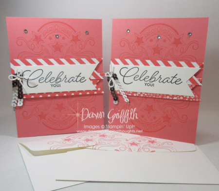 Celebrate YOU GQ cards with envelopes Nov 2016 Dawn Griffith