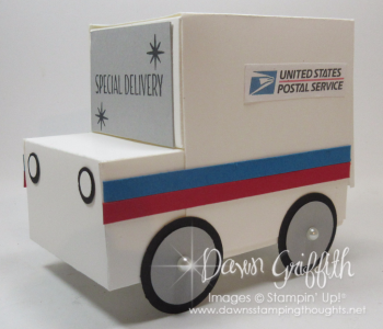 Gift Box USPS Truck Dawn Griffith