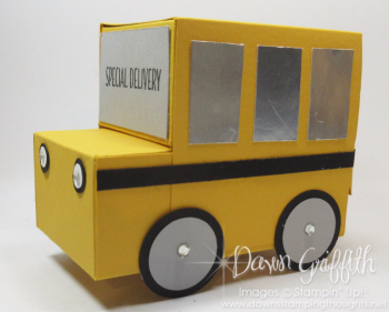 Gift Box School bus Dawn Griffith