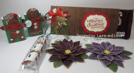 Laurie and Liesa Christmas goodies 2016