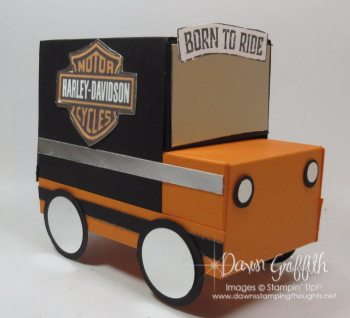 Gift Box Harley Truck Dawn Griffith