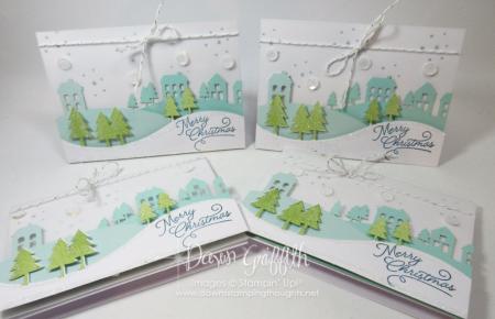 Merry Christmas cards Paper Pumpkin Nov 2016