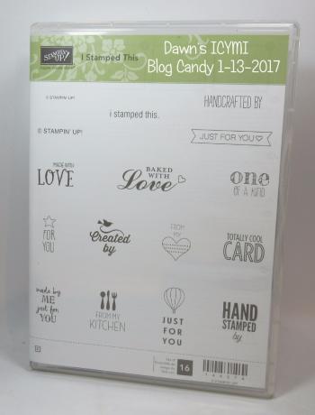 ICYMI Blog  candy January 13th 2017 Dawn Griffith