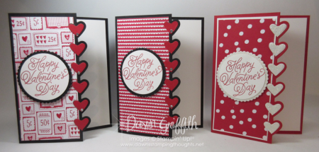 Valentine Days card Love notes M and T for club Dawn Griffith