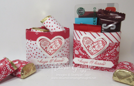 Sending Love Valentine Candy Bag Dawn Griffith