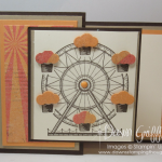 Carousel Z- fold Birthday