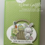 Easter Slider card using the Basket Bunch Bundle  video