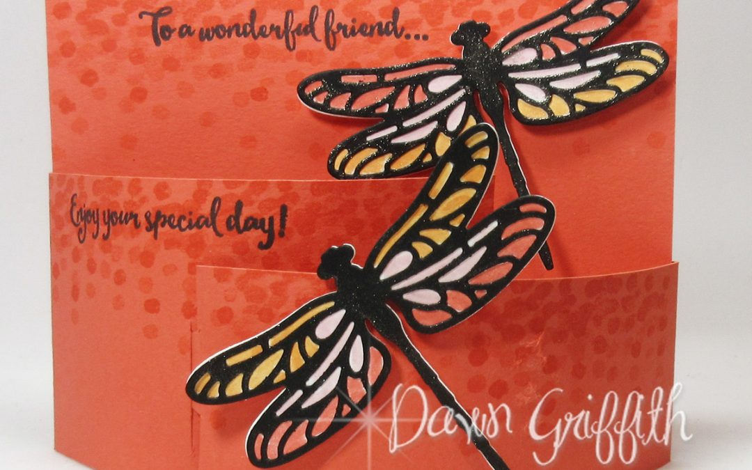Bendi Fold Dragonfly Card video